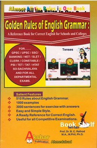 GOLDEN RULES OF ENGLISH GRAMMAR