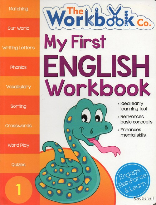 MY FIRST ENGLISH WORKBOOK 1