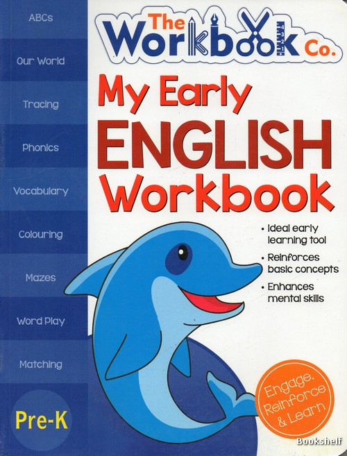 MY EARLY ENGLISH WORKBOOK PRE-K
