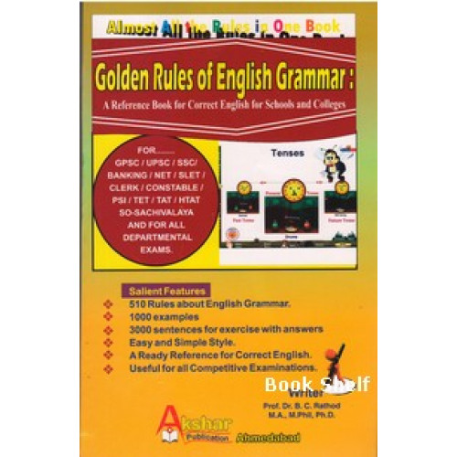 GOLDEN RULES OF ENGLISH GRAMMAR