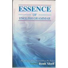 ESSENCE OF ENGLISH GRAMMAR