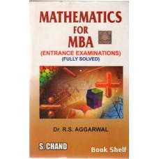MATHEMATICS FOR M.B.A.