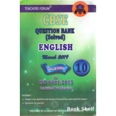 CBSC QUESTION BANK ENGLISH STD - 10