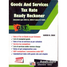 GOODS AND SERVICES TAX RATE READY RECKONER