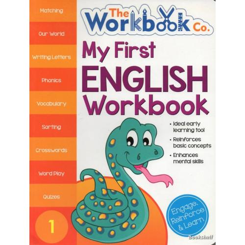 MY FIRST ENGLISH WORKBOOK 1