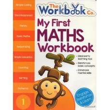 MY FIRST MATHS WORKBOOK 1