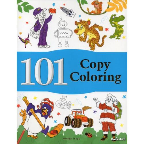 101 COPY COLORING