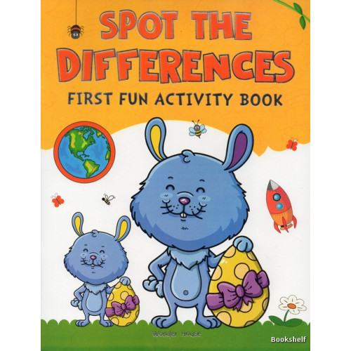 SPOT THE DIFFERENCES FIRST FUN ACTIVITY BOOK