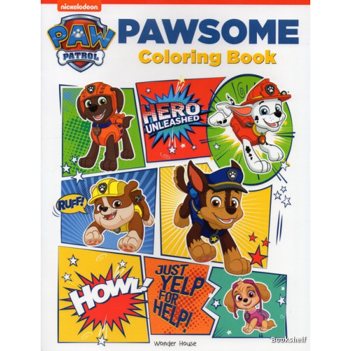 PAWSOME COLORING BOOK